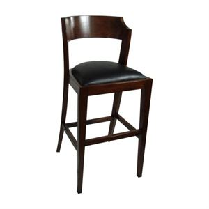 Maria Yee Montecito Heritage Leather Bar Stool