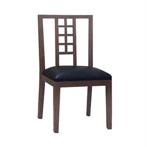 Maria Yee Metro Heritage Leather Side Chair