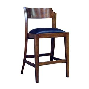 Maria Yee Monetcito Heritage Leather Counter Stool