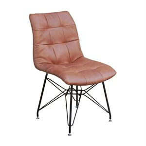 Maria Yee Oscar Leather Side Chair