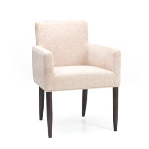 Maria Yee Merced Fabric Low Back Armchair