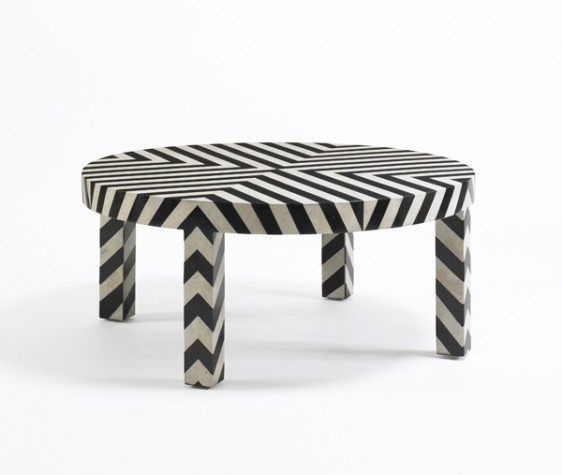 Dwell Studio Chevron Cocktail Table