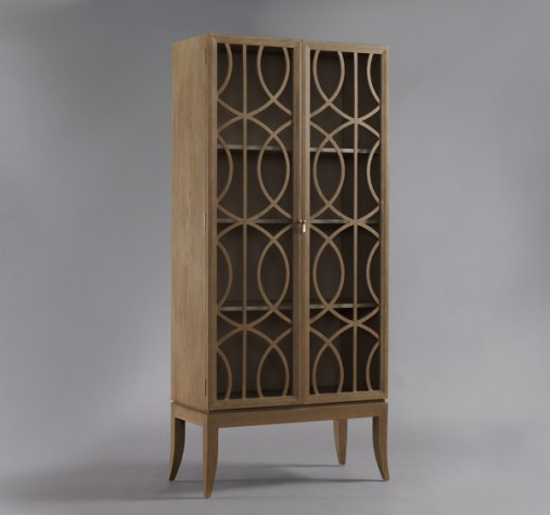 Dwell Studio Gate Armoire - Belgian Grey