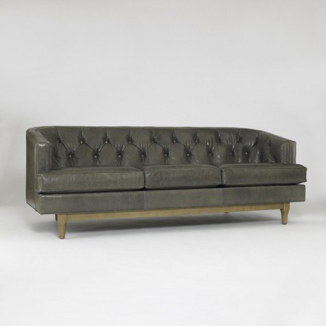 Dwell Studio Chester Sofa   Leather