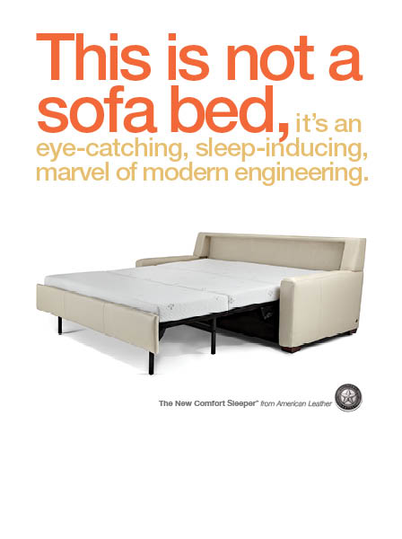 COMFORT SLEEPER by American Leather, NOW ON SALE!