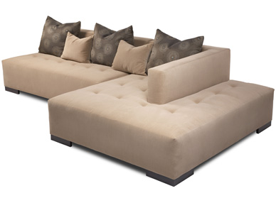 American Leather Corbin Sectional