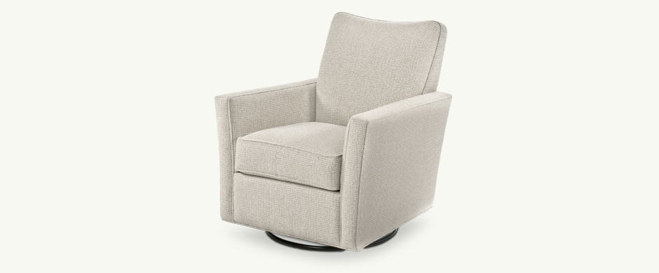 Younger Furniture Lainey Swivel Glider Chair