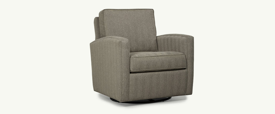 Younger Furniture Lincoln Swivel Glider Chair