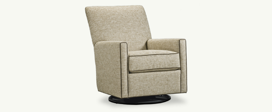 Younger Furniture Lucy Swivel Glider Chair