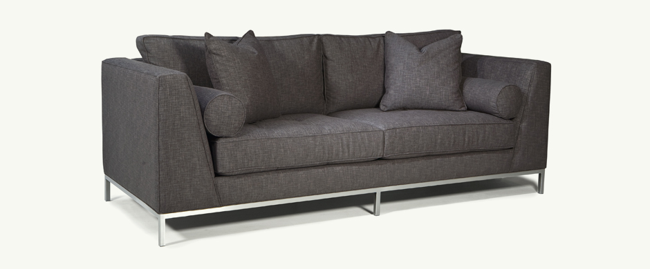 Younger Furniture Max Metal Base Sofa