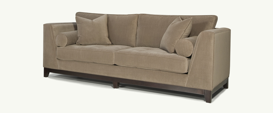 Younger Furniture Max Wooden Base Sofa