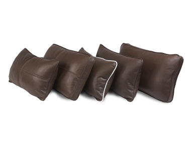 American Leather Kidney Pillows