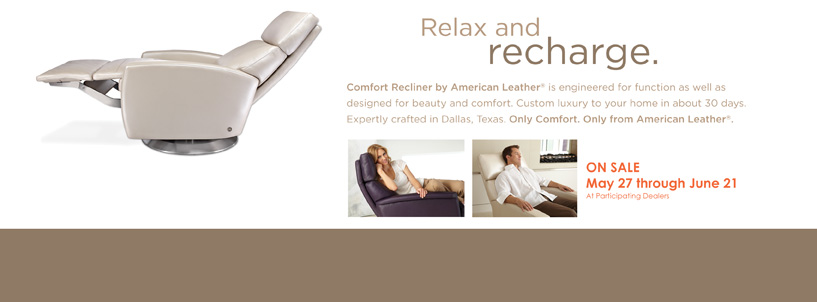Comfort Recliner by American Leather®