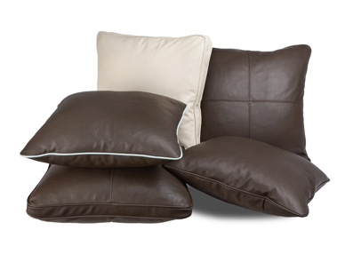 American Leather Square Pillows