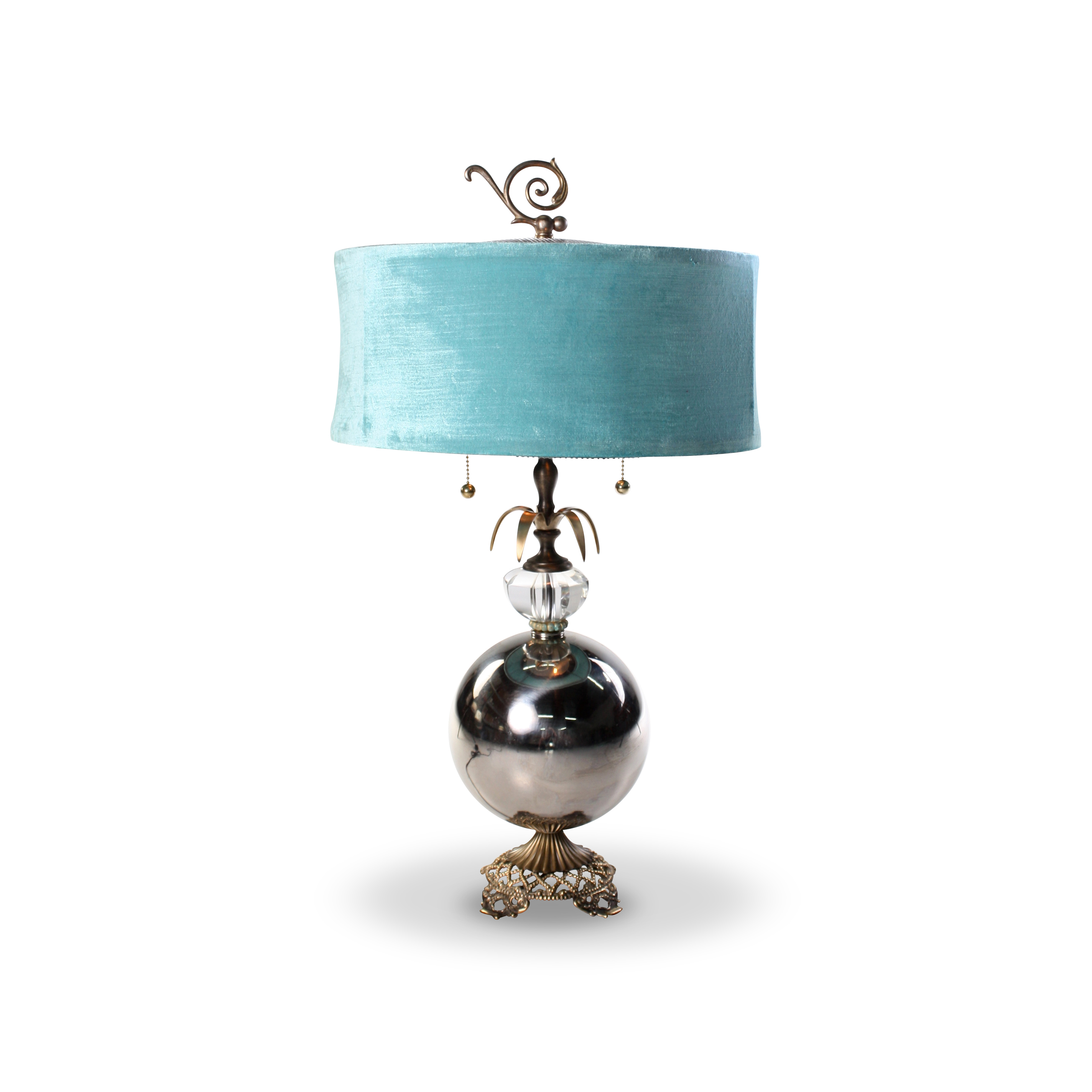 lamp glass in table pier zoom aqua imports