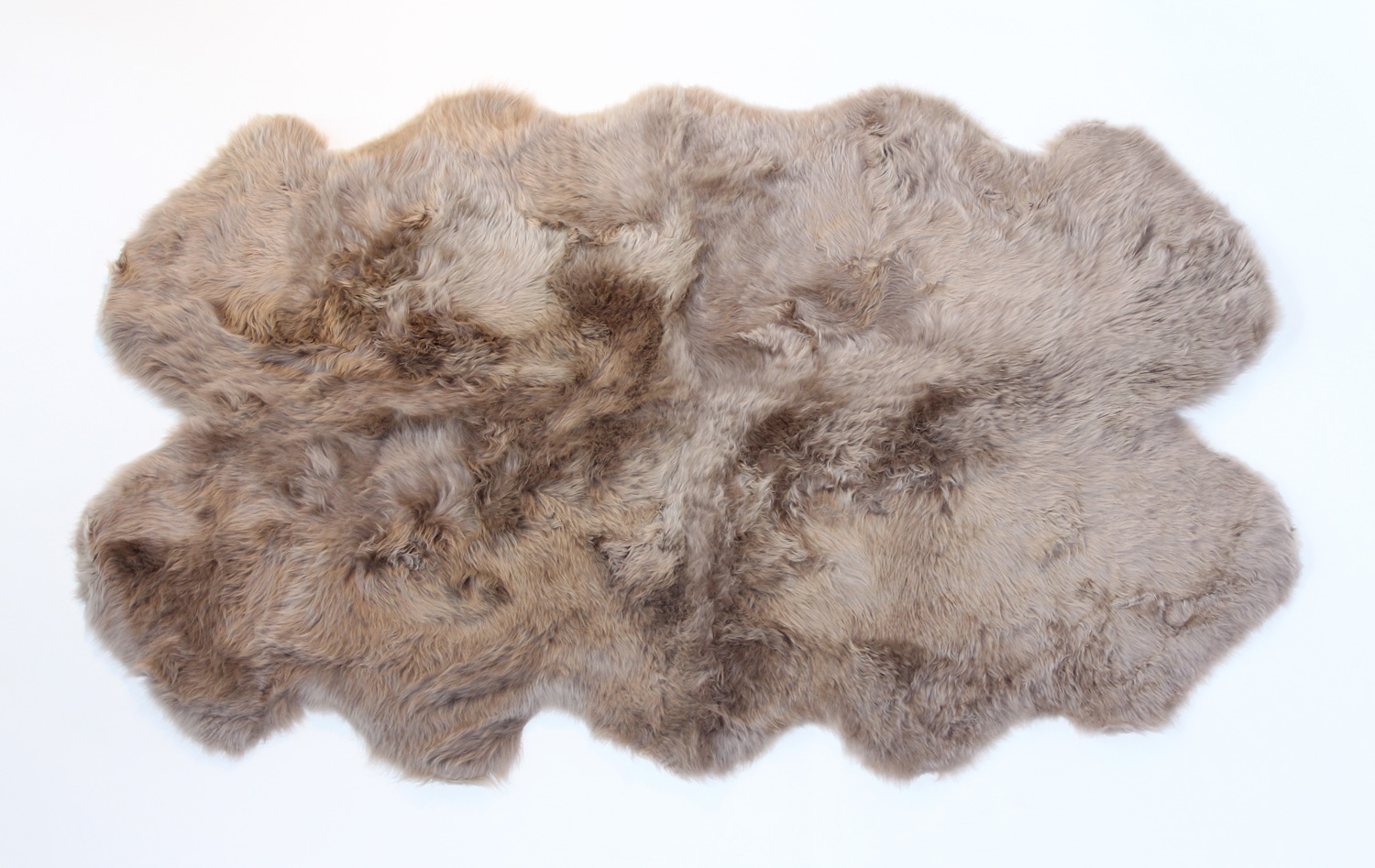 Auskin Classic Sheepskin: Quarto in Taupe