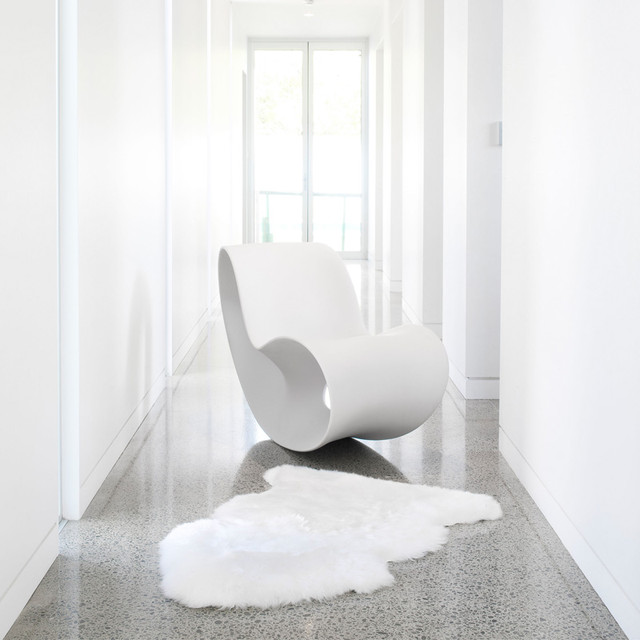 Auskin Classic Sheepskin: Single in Ivory