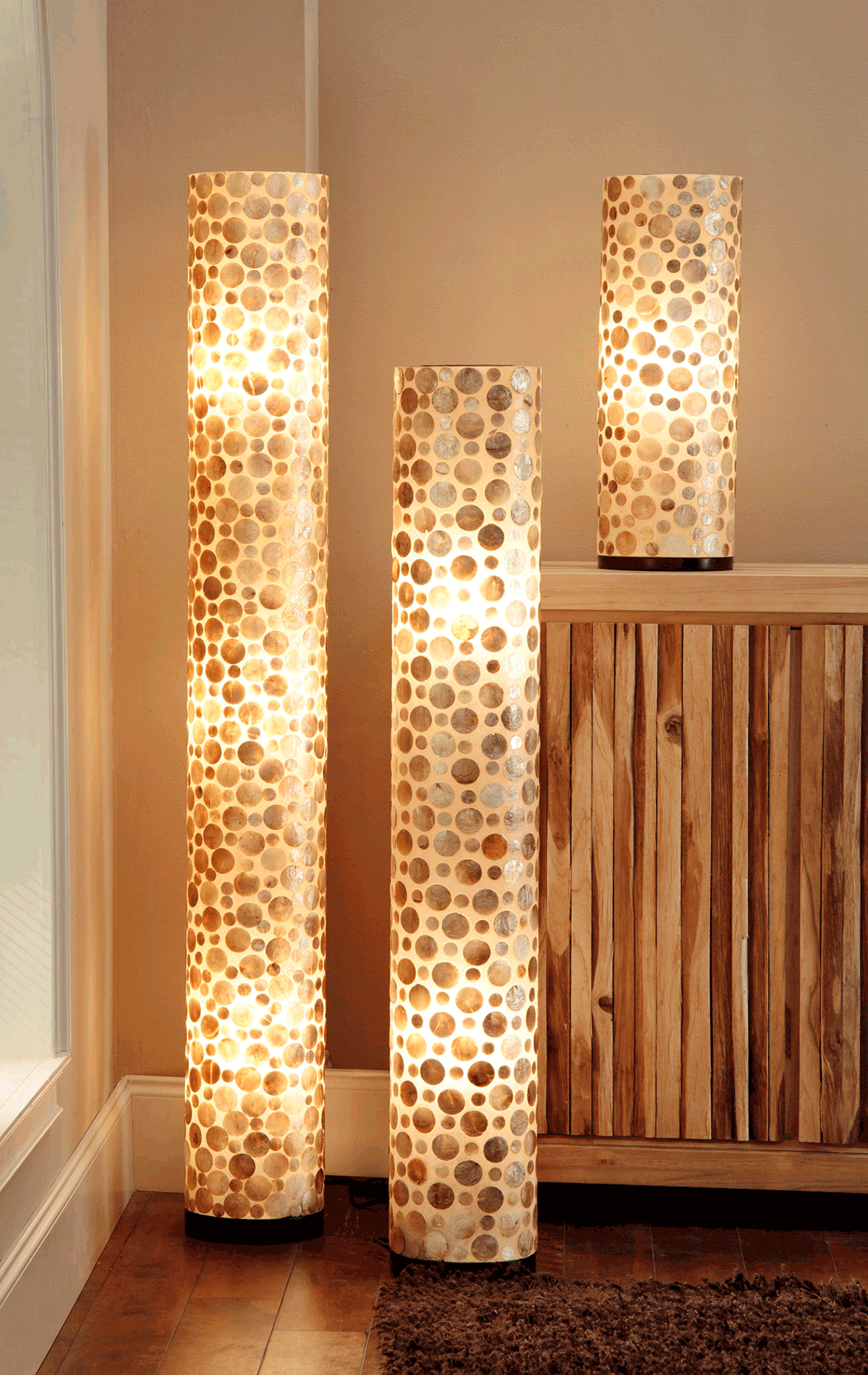 Bubbles Decorative Floor Round Lamp