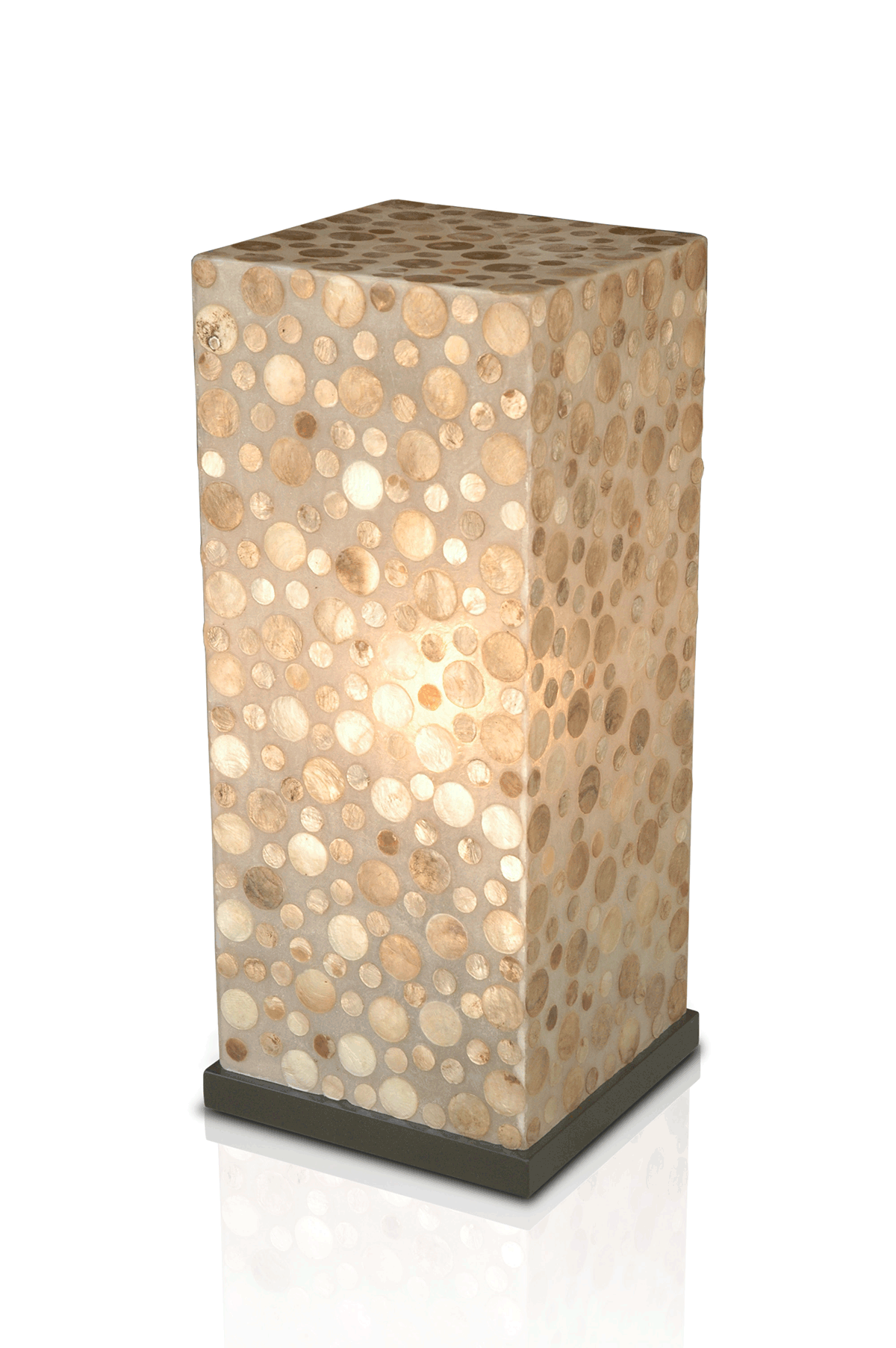 Bubbless Pedestal Standing Lamp