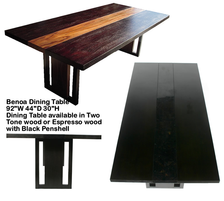 Indo Puri Benoa Dining Table