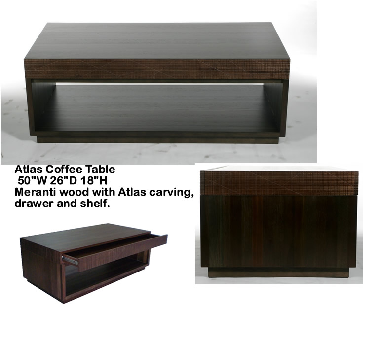 Indo Puri Atlas Coffee Table