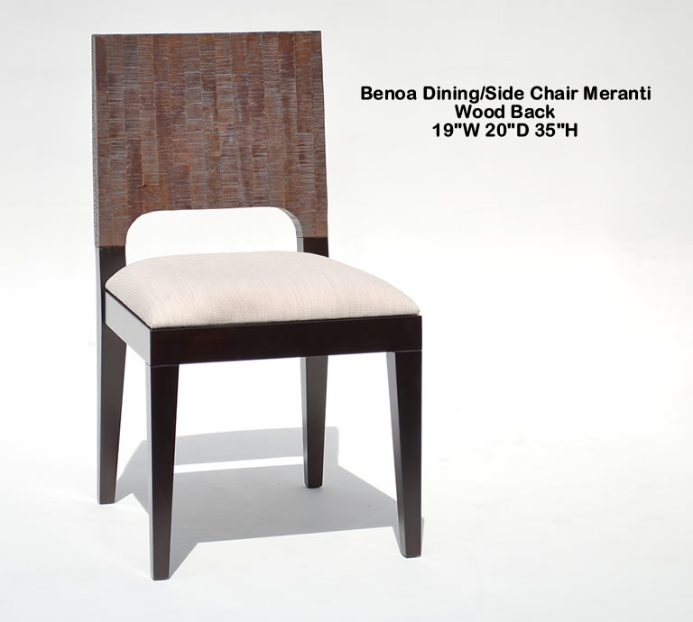 Indo Puri Benoa Side Chair