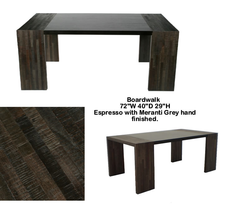 Indo Puri Boardwalk Dining Table