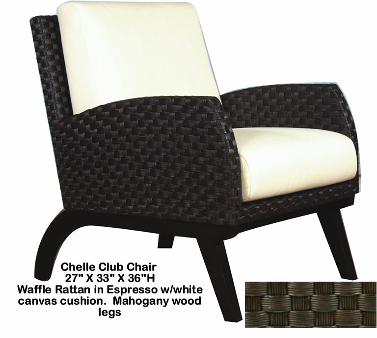 Indo Puri Chelle Club Chair
