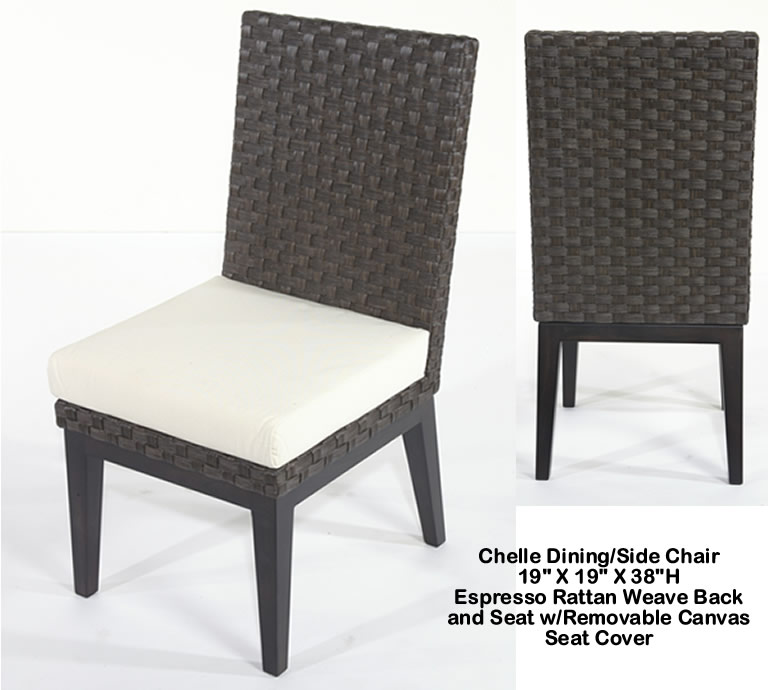 Indo Puri Chelle Dining Side Chair