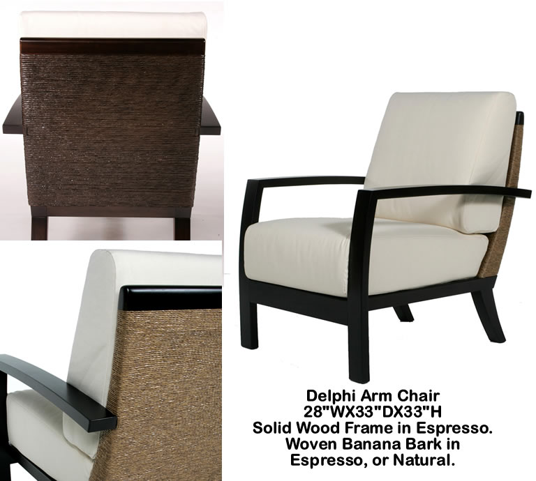 Indo Puri Delphi Arm Chair