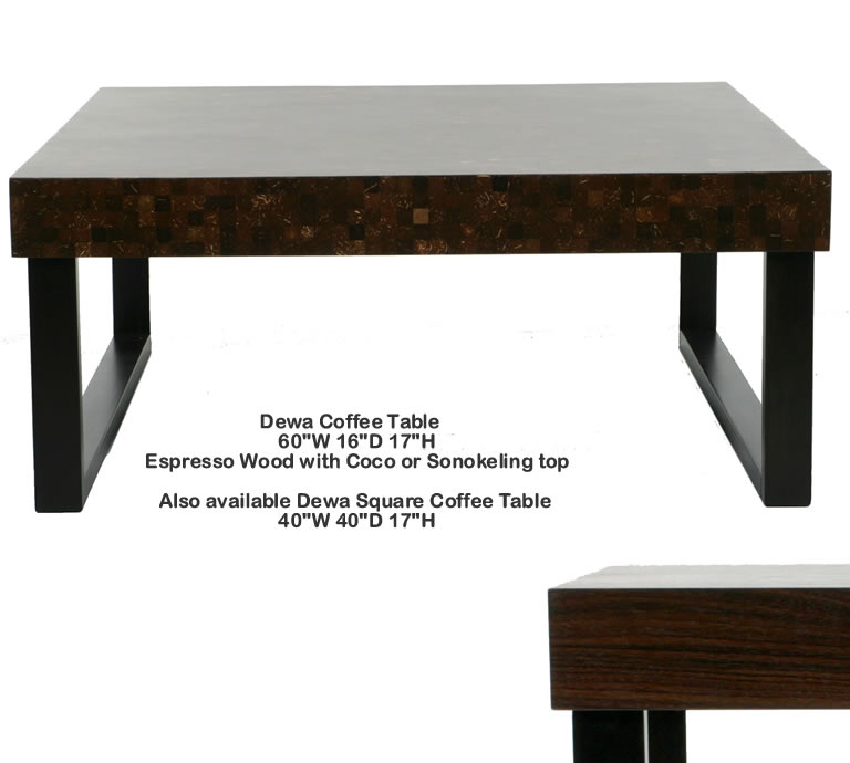 Indo Puri Dewa Coffee Table