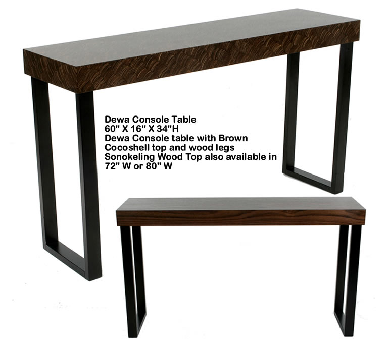 Indo Puri Dewa Console Table