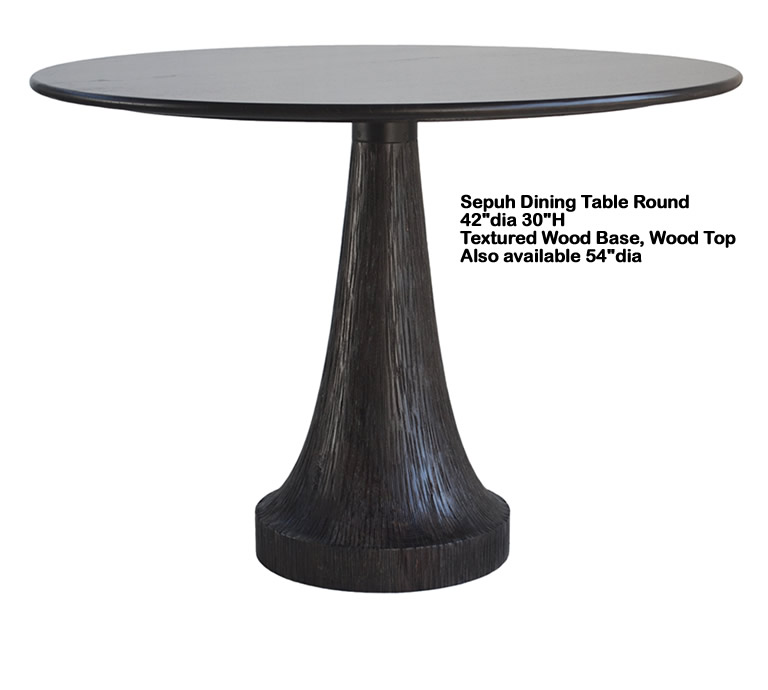 Indo Puri Sepuh Dining Table Round