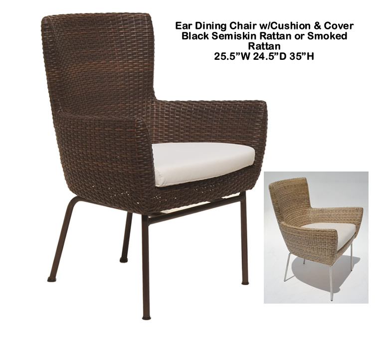 Indo Puri Ear Dining Chair