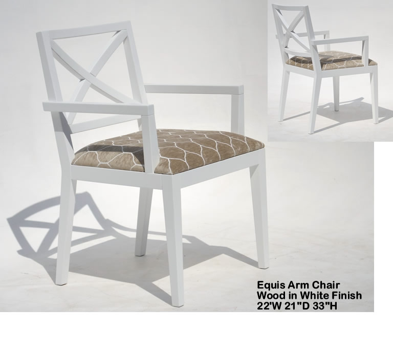 Indo Puri Equis Arm Chair