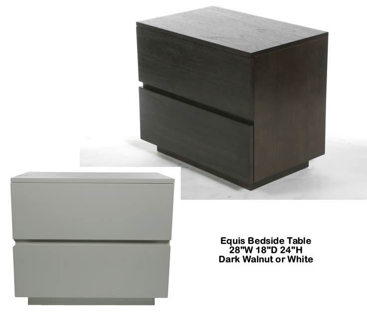Indo Puri Equis Bedside Table