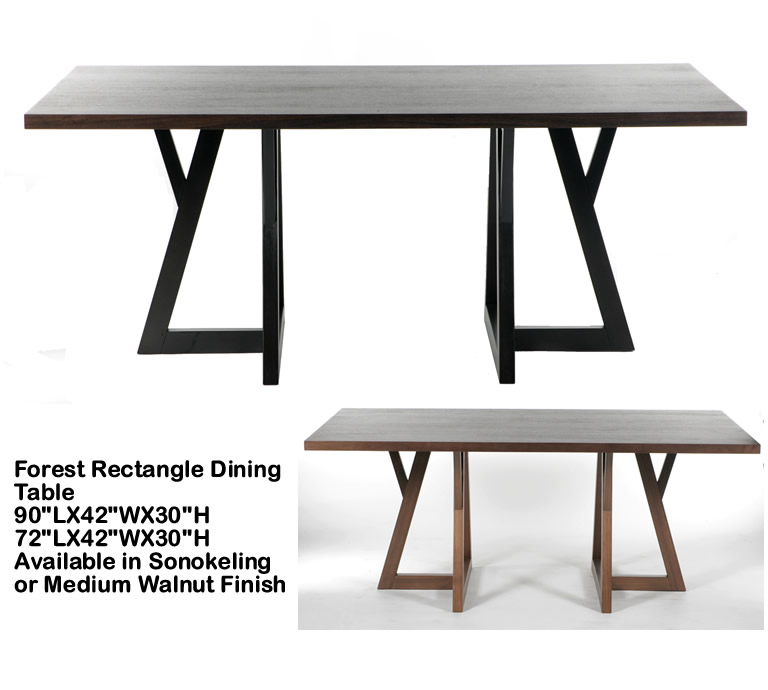 Indo Puri Forest Rectangle Dining Table