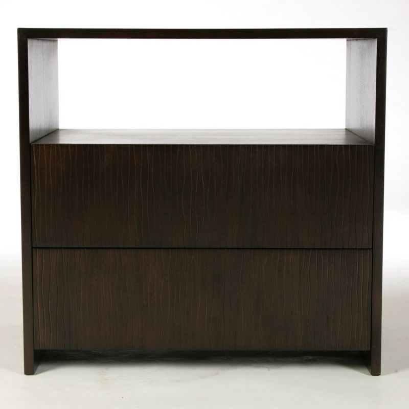 Indo Puri Garis Bedside Table