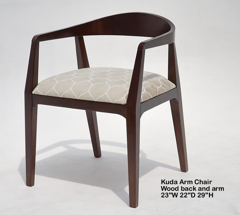 Indo Puri Kuda Arm Chair