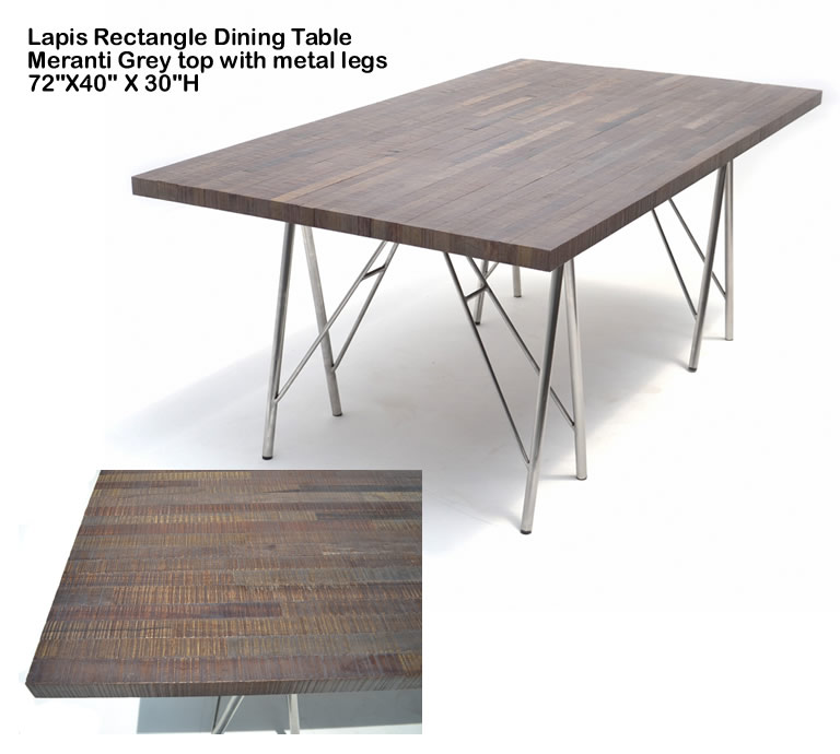 Indo Puri Lapis Meranti Dining Table