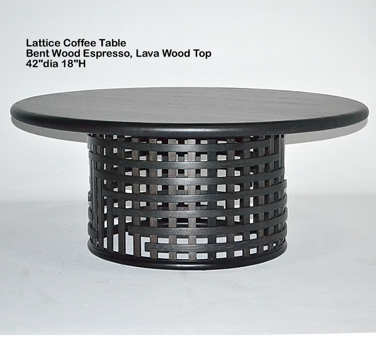 Indo Puri Lattice Coffee Table