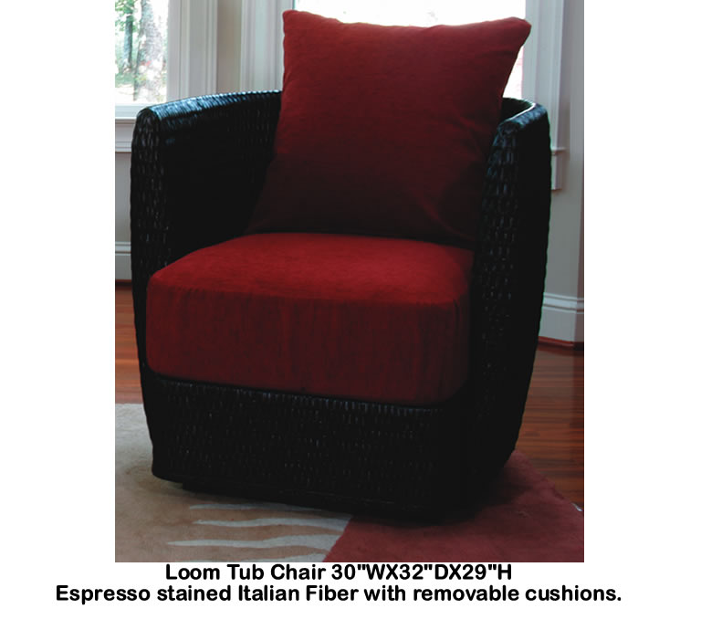Indo Puri Loom Tub Chair