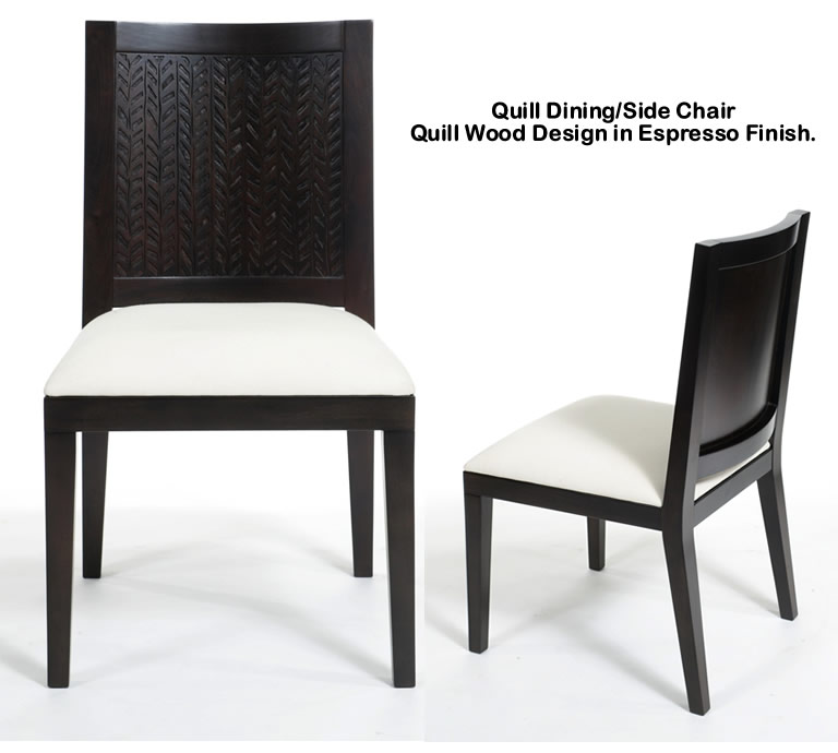 Indo Puri Quill Dining Chair