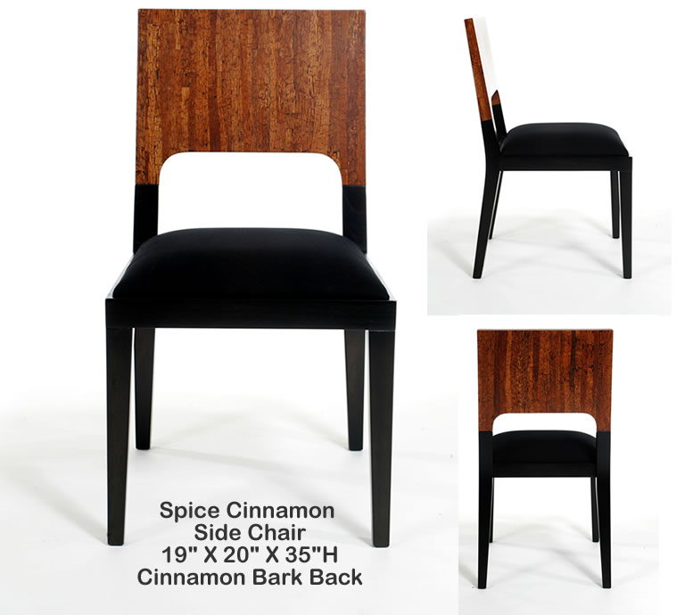 Indo Puri Spice Cinnamon Dining Chair