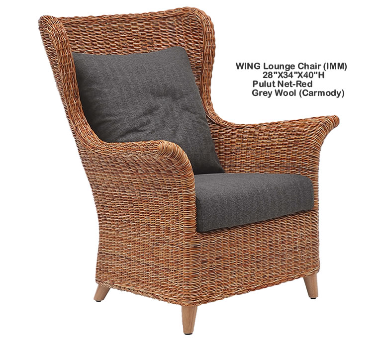 Indo Puri Wing Lounge Chair