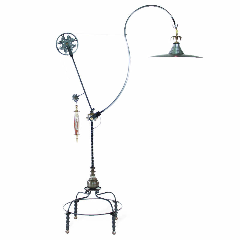 Great Luna Bella Magnum Pulley Floor Lamp