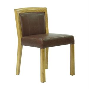 Maria Yee Ojai Leather Side Chair