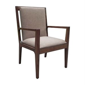 Maria Yee Papyrus Fabric Arm Chair