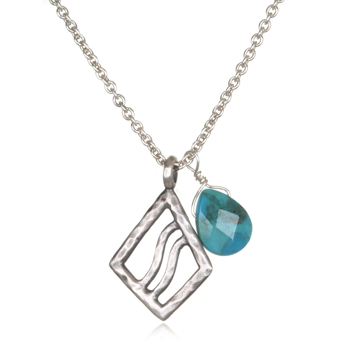 Satya Purified Necklace In Silver