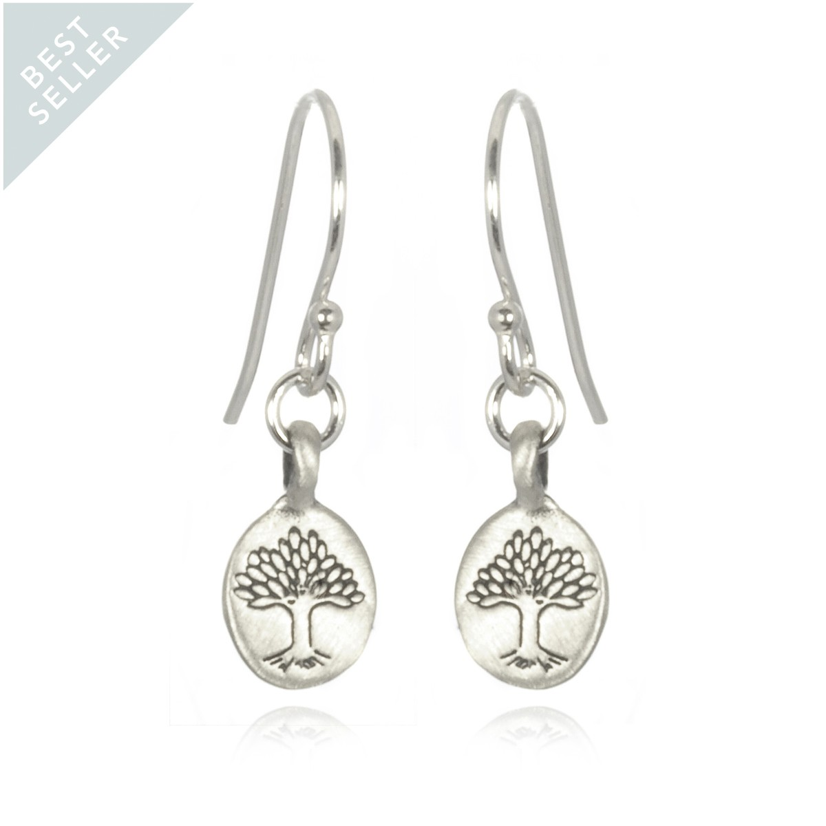 Satya Silver Tree Of Life Earrings - Nurturing Earth